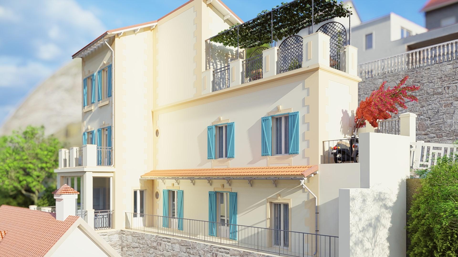 Roquebrune, Cap Martin - France- Reabilitação de uma moradia unifamiliar 0